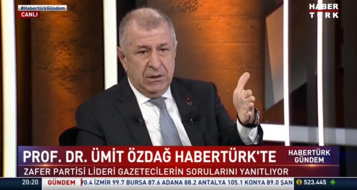 Ümit Özdağ Habertürk TV