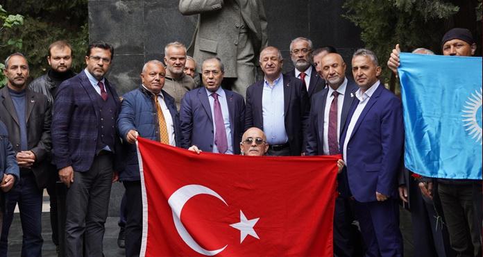 Zafer Partisi Heyeti, Ümit Özdağ Liderliğinde Kardeş Azerbaycan'da